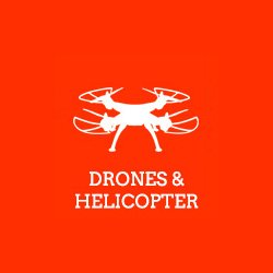 Drones and Helicopters