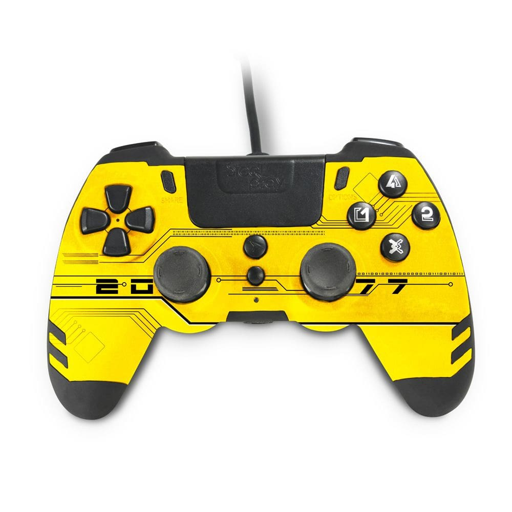 jvaps400188-steelplay-metaltech-wired-controller-for--playstation-4-yellow-hack